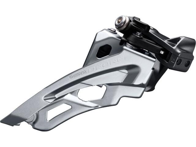 Shimano Deore MTB FD-M6000 Dérailleur avant 3x10 vitesses Side Swing collier de serrage bas, black